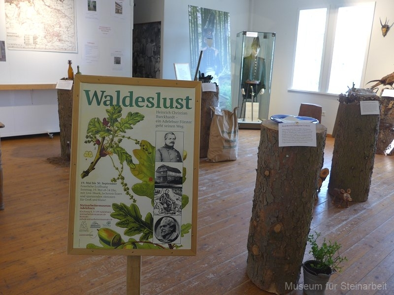 """Ausstellung """"Heinrich Christian Burckhardt - Ein Adelebser geht seinen Weg"""""""