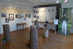 Die Ausstellungen enthält Informationen zu Burckhardt und zum Waldzustand des 19. Jahrhunderts