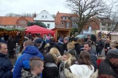 Der Markt ist gut besucht